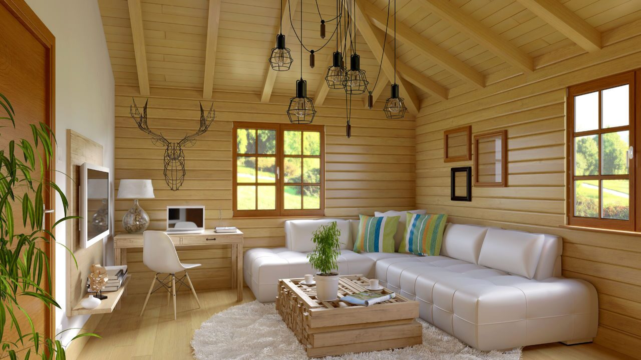 Дизайн дома обшитого вагонкой фото